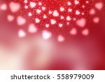 red abstract valentines day... | Shutterstock . vector #558979009