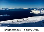 Skiing In Norway Fjords