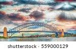 Sydney Harbour Bridge Sunset New - Fine Art prints