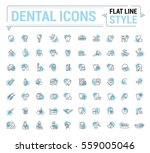 vector graphic set. simple... | Shutterstock .eps vector #559005046