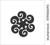 calligraphy design elements... | Shutterstock .eps vector #559006093