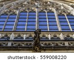 Stained Glass Window And...