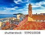 the amazing panorama dubrovnik... | Shutterstock . vector #559010038