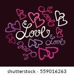 valentine's day illustration...   Shutterstock .eps vector #559016263