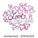 valentine's day illustration...   Shutterstock .eps vector #559016269