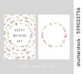mother's day card | Shutterstock .eps vector #559033756