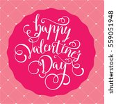 valentine vector illustration... | Shutterstock .eps vector #559051948