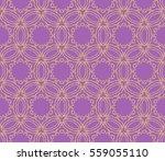Damask Floral Seamless Pattern...