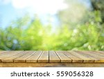 empty table for display montages   Shutterstock . vector #559056328