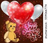 valentine vector illustration...   Shutterstock .eps vector #559066774