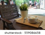 coffee corner on the table | Shutterstock . vector #559086658