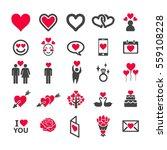 love icon   Shutterstock .eps vector #559108228