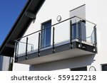 stainless steel balcony railing | Shutterstock . vector #559127218