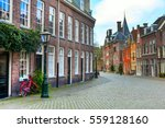 street view  traditional houses ... | Shutterstock . vector #559128160