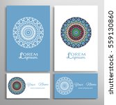 mandala sign symbol  colorful... | Shutterstock .eps vector #559130860