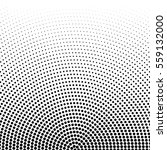 vector halftone dots. black... | Shutterstock .eps vector #559132000