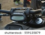 motorcycle close up  | Shutterstock . vector #559135879