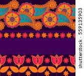 seamless vector pattern based... | Shutterstock .eps vector #559135903
