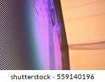 abstract blur led lights | Shutterstock . vector #559140196