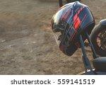 motorcycle closeup | Shutterstock . vector #559141519