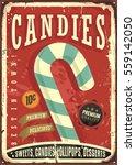 Candy Shop Retro Sign Design....