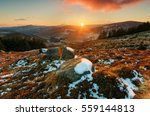Sunset In Wicklow Mountains ...