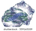 abstract fractal background.... | Shutterstock . vector #559165339