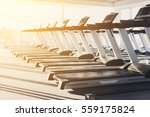 modern gym interior with... | Shutterstock . vector #559175824