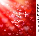 valentine's day. abstract... | Shutterstock .eps vector #559179730