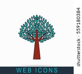 tree icon | Shutterstock .eps vector #559180384