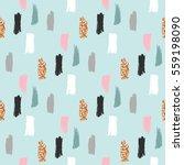 modern abstract vector pattern. ... | Shutterstock .eps vector #559198090
