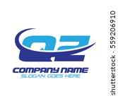 qz logo | Shutterstock .eps vector #559206910