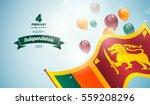 4 february. sri lanka... | Shutterstock .eps vector #559208296