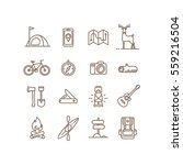 set of icons and symbols for... | Shutterstock .eps vector #559216504