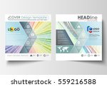 business templates for square... | Shutterstock .eps vector #559216588
