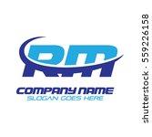 rm logo | Shutterstock .eps vector #559226158