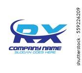 rx logo | Shutterstock .eps vector #559226209