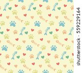 Pet Theme Background Vector...