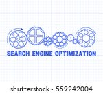 search engine optimization text ...   Shutterstock .eps vector #559242004