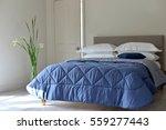 bedroom setting with luxury... | Shutterstock . vector #559277443