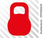 red weight iron toolbar icon.... | Shutterstock .eps vector #559300633
