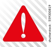 red warning error interface...
