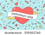 old ribbon with message...   Shutterstock .eps vector #559302760