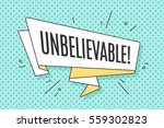 ribbon banner with text... | Shutterstock .eps vector #559302823