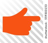 orange index hand interface...