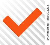 orange ok interface pictogram....