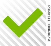 eco green ok interface icon....