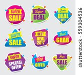 colorful sale discount | Shutterstock .eps vector #559304536