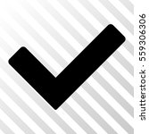 black ok toolbar icon. vector...