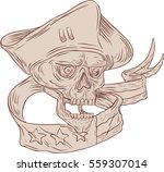 drawing sketch style... | Shutterstock . vector #559307014